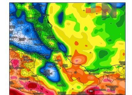 Varios sistemas meteorológicos traerán más lluvias a Veracruz