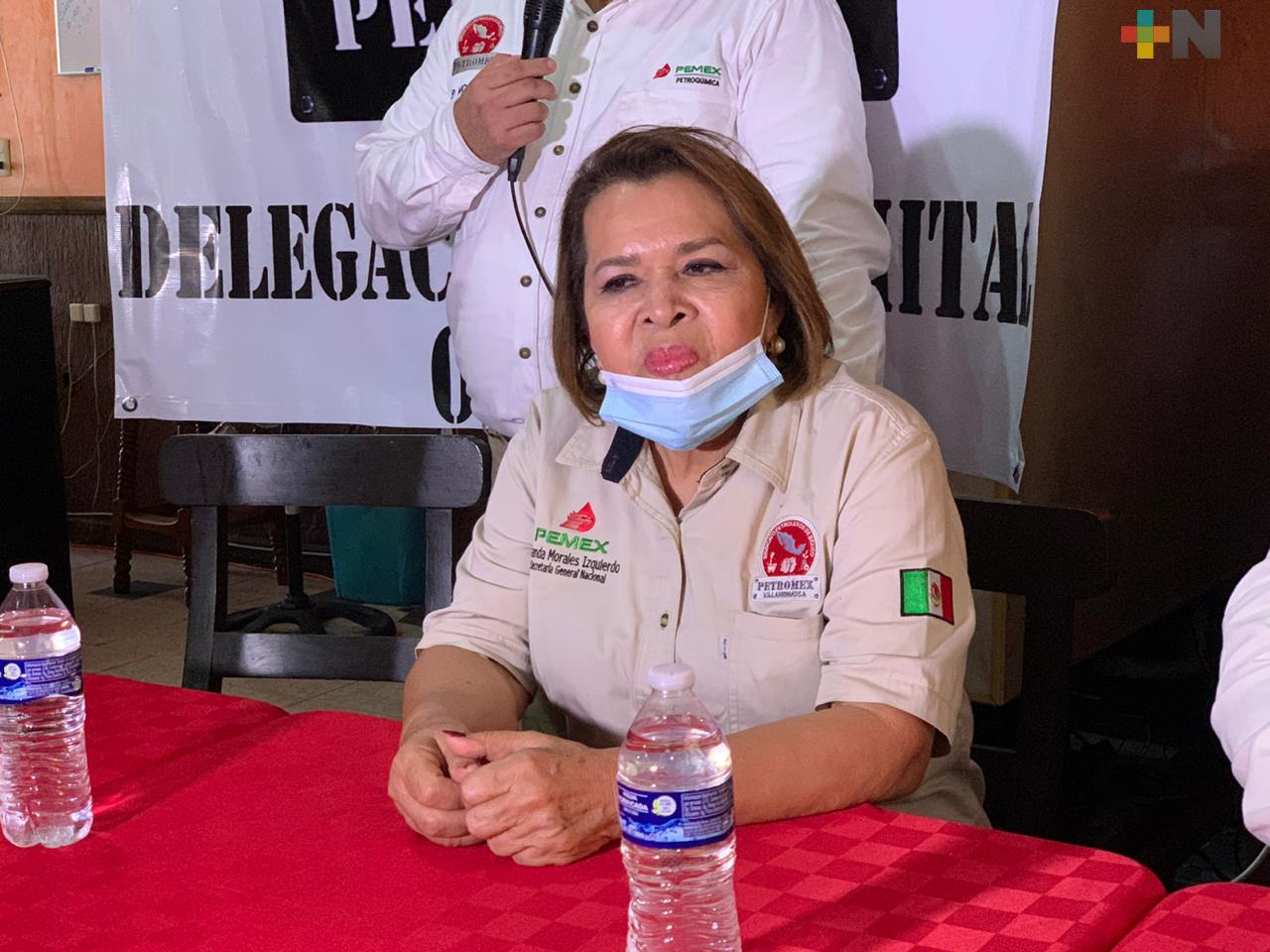 «Conmigo no va haber corrupción»: líder de Petromex