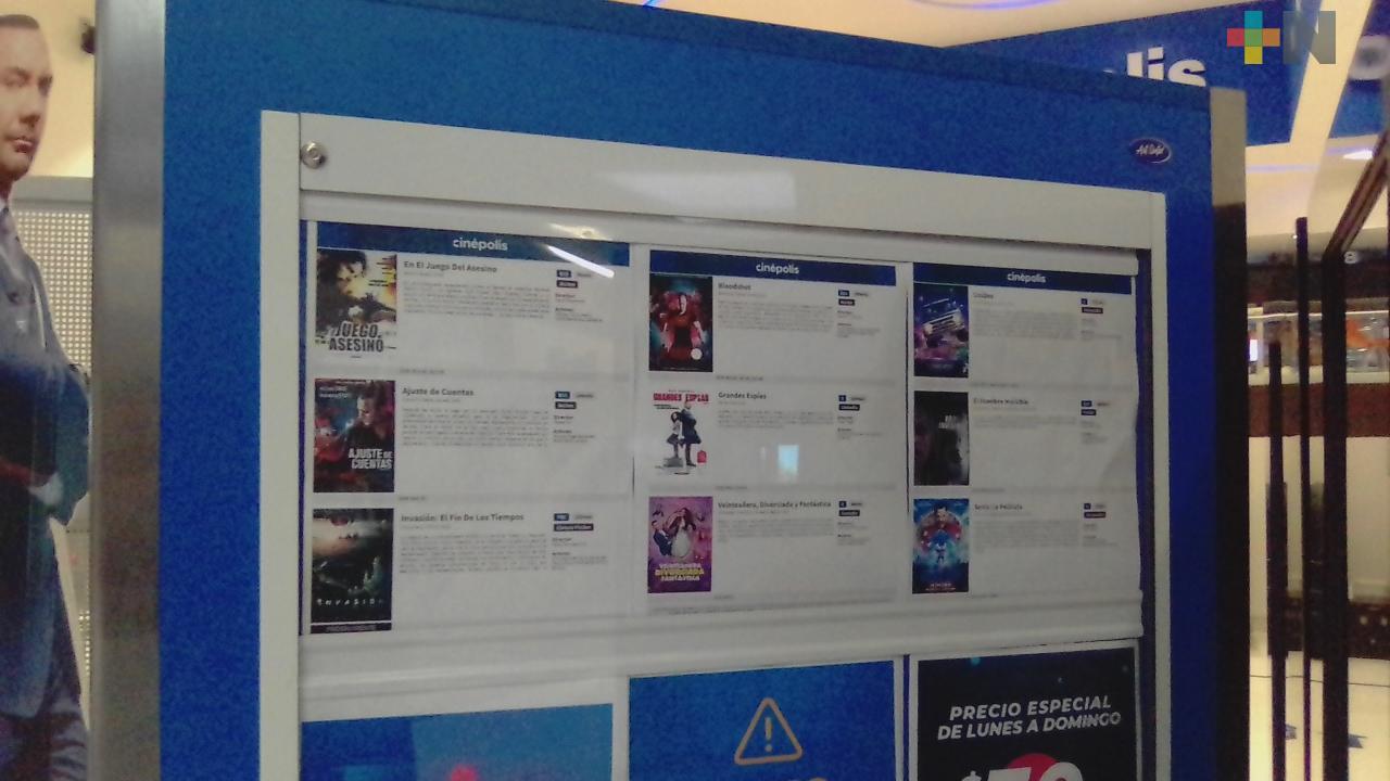 Abren cines en zona conurbada Veracruz-Boca del Río