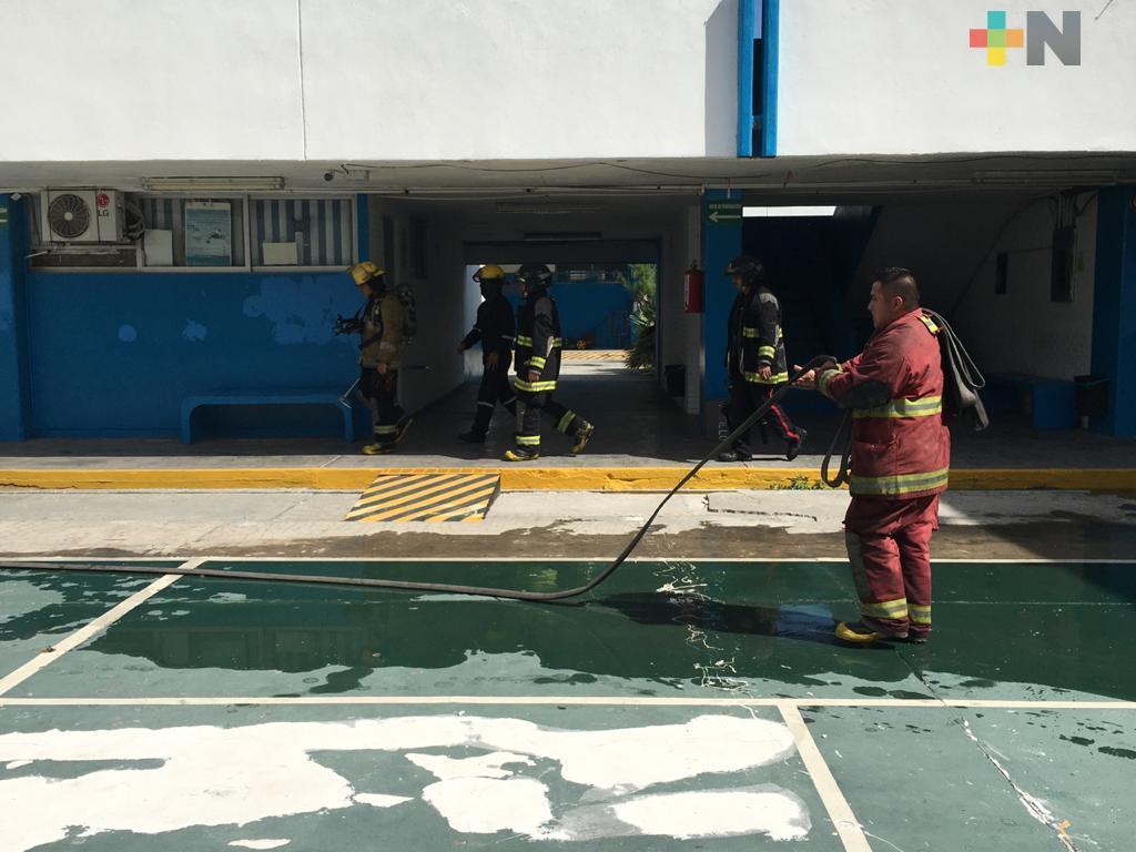 Incendio en Cetmar deja pérdidas materiales