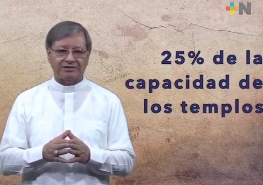 Ya se podrán realizar bodas y bautizos en iglesias católicas de Coatzacoalcos