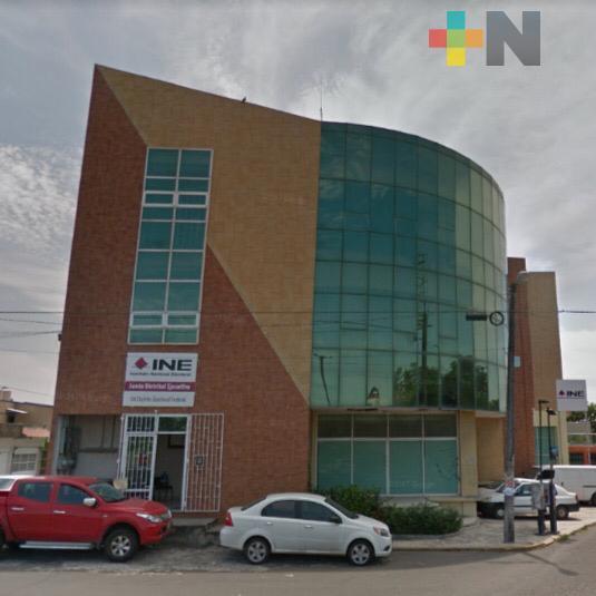 Módulos del INE de Boca del Río y Veracruz abrirán el 17 de agosto
