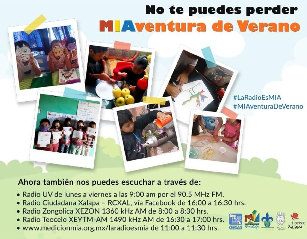 En Radio Ciudadana Xalapa, MIAventura de Verano