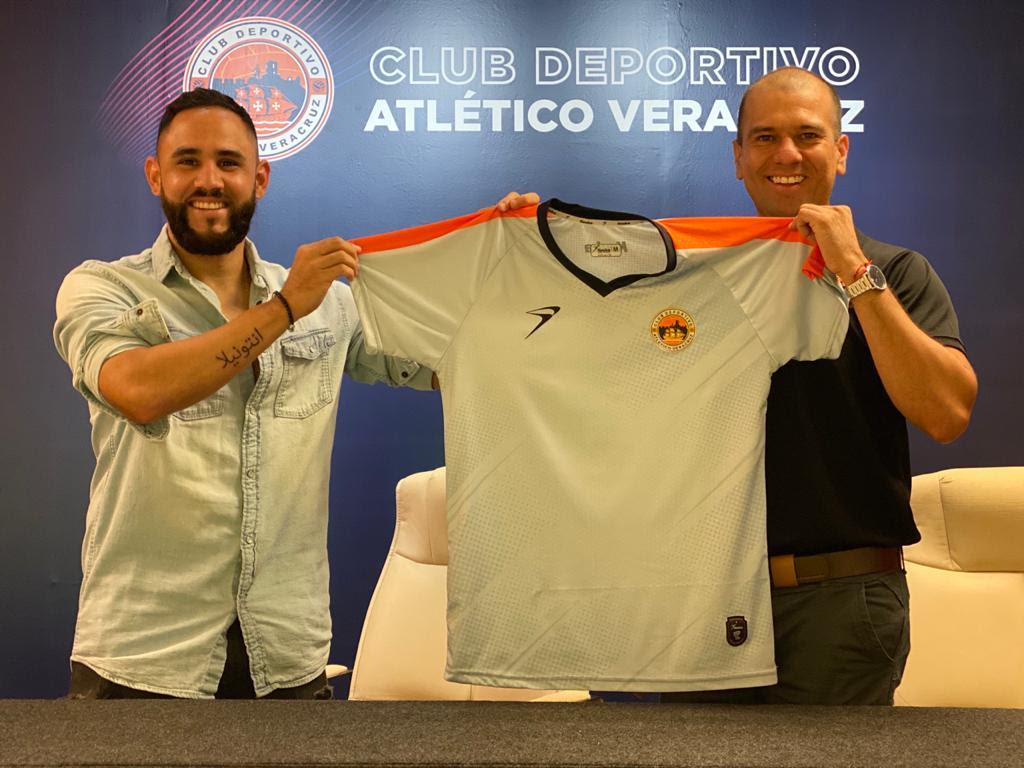 Sergio Nápoles es nuevo refuerzo del Atlético Veracruz