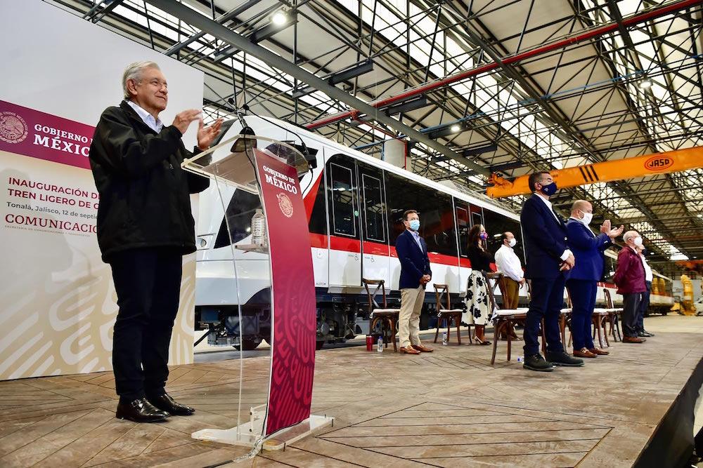 Presidente inaugura L3 del Tren Ligero de Guadalajara; no dejaremos obras inconclusas al final del sexenio, asegura