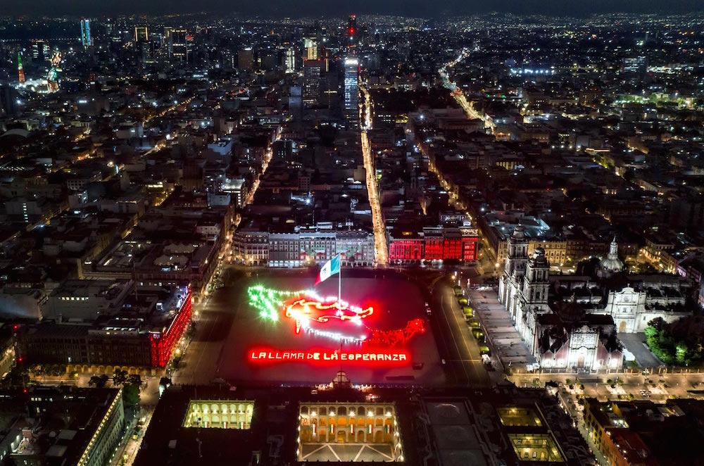 Celebración de la Independencia de México