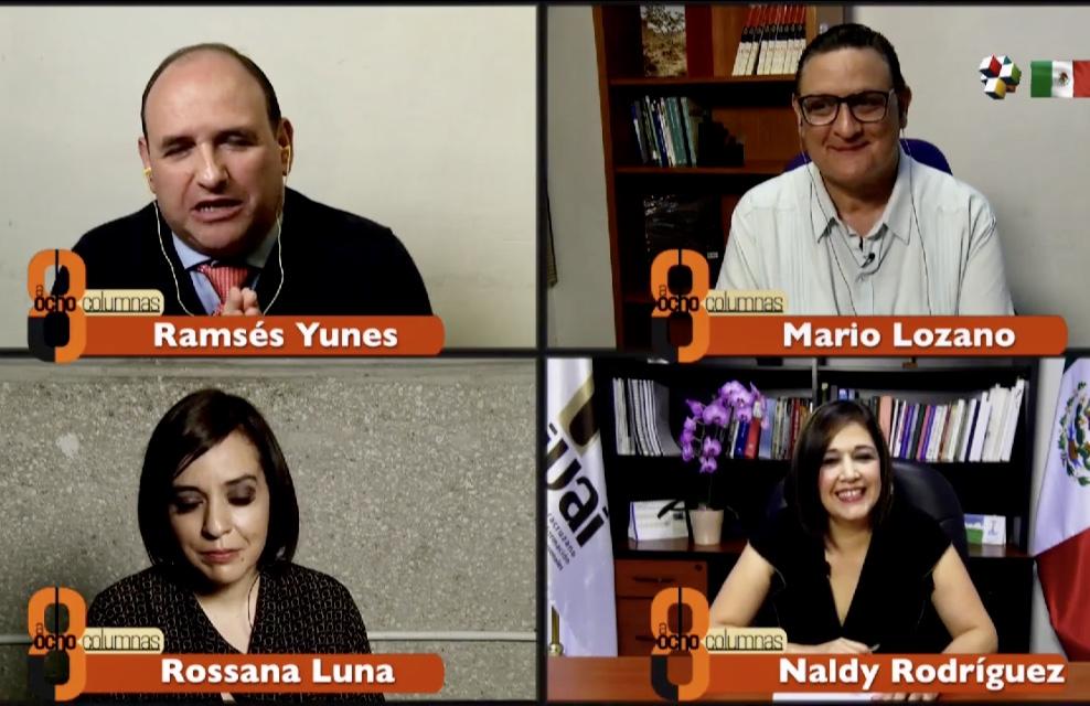 Con reingeniería en el IVAI se abatirá rezago de expedientes: Naldy Rodríguez