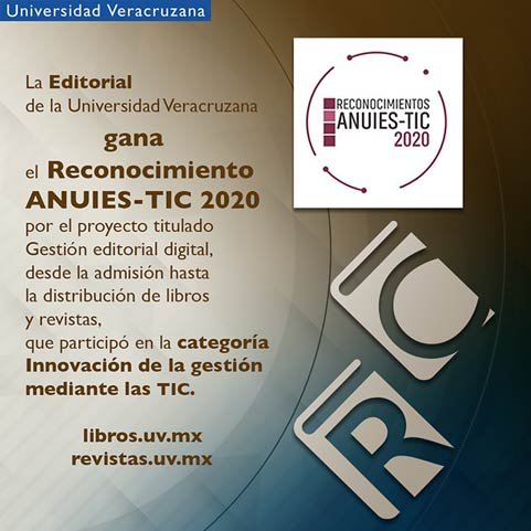 Editorial UV ganó Reconocimiento ANUIES-TIC 2020