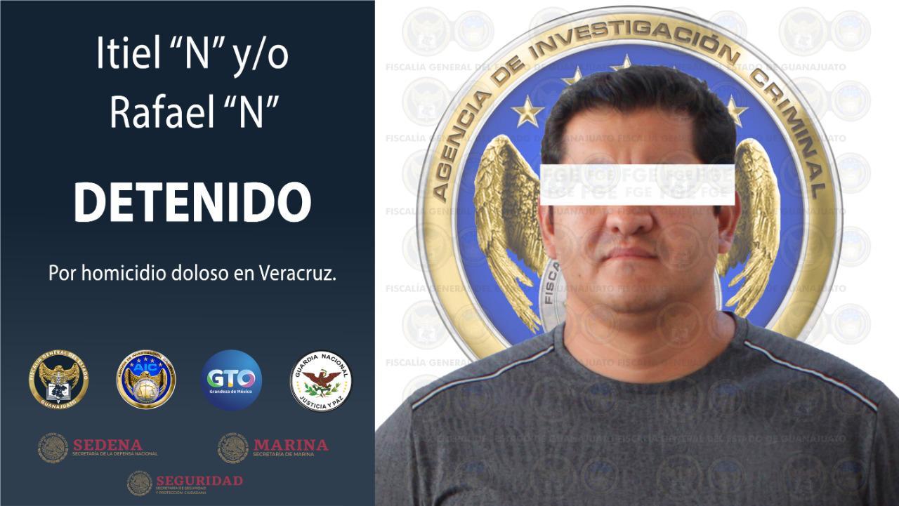 Detienen a presunto asesino de Juan Carlos Molina Palacios