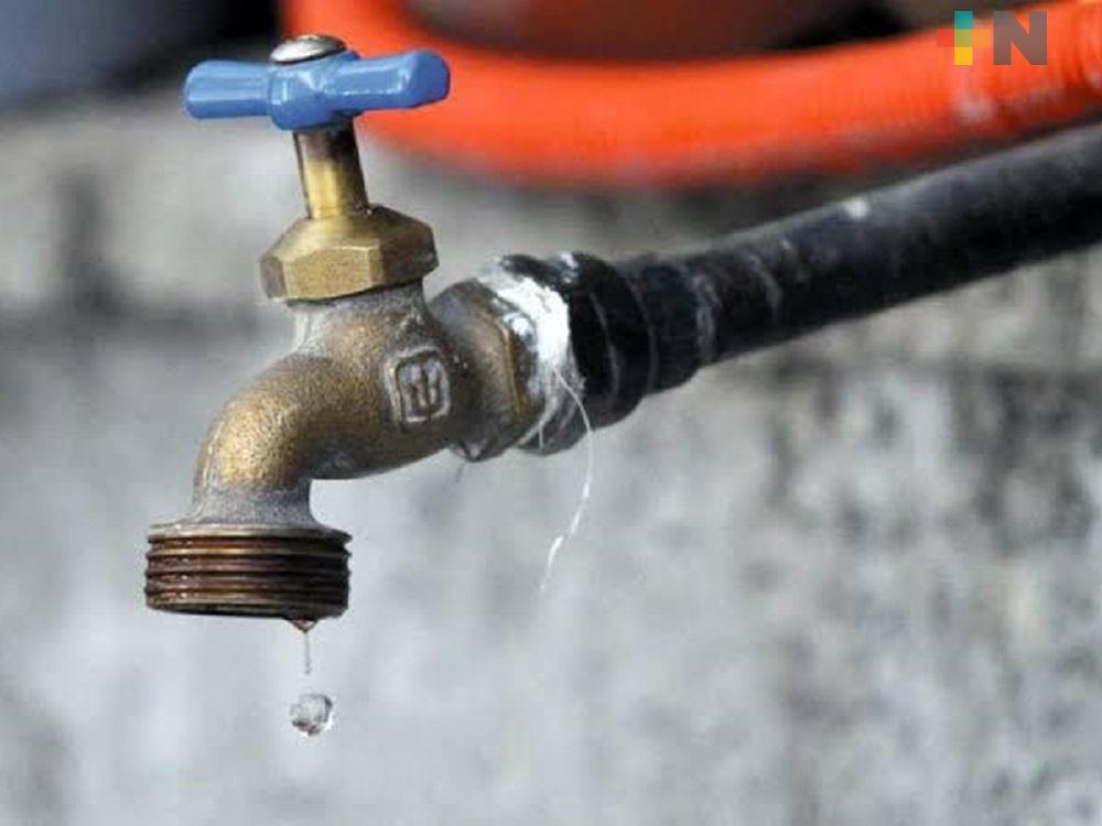En municipio de Veracruz inicia pago anticipado del servicio del agua potable
