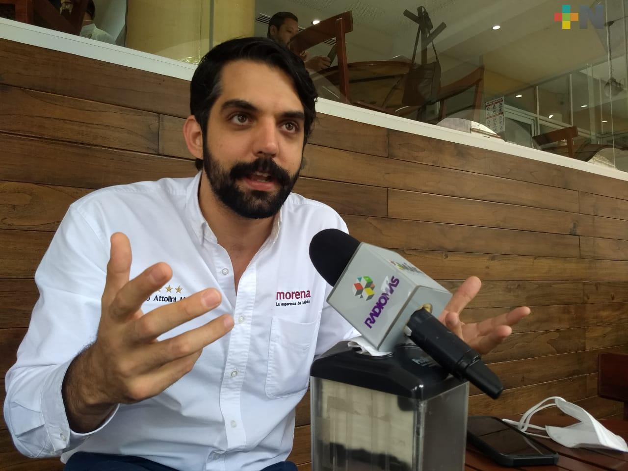 Renovación de Morena definirá la continuidad del movimiento del Presidente: Attolini