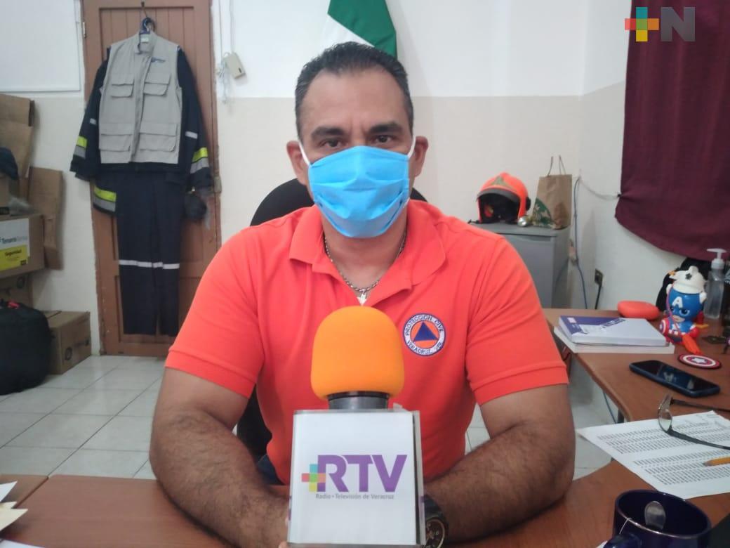 Protección Civil del municipio de Veracruz ha atendido 279 incendios de pastizales