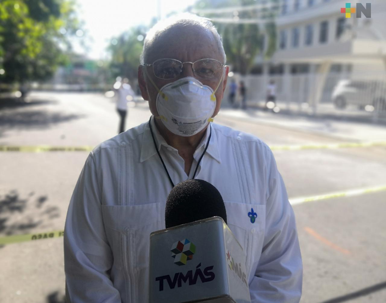 Menos de 5 aspirantes a la UV presentaron síntomas de COVID-19 en región de Veracruz