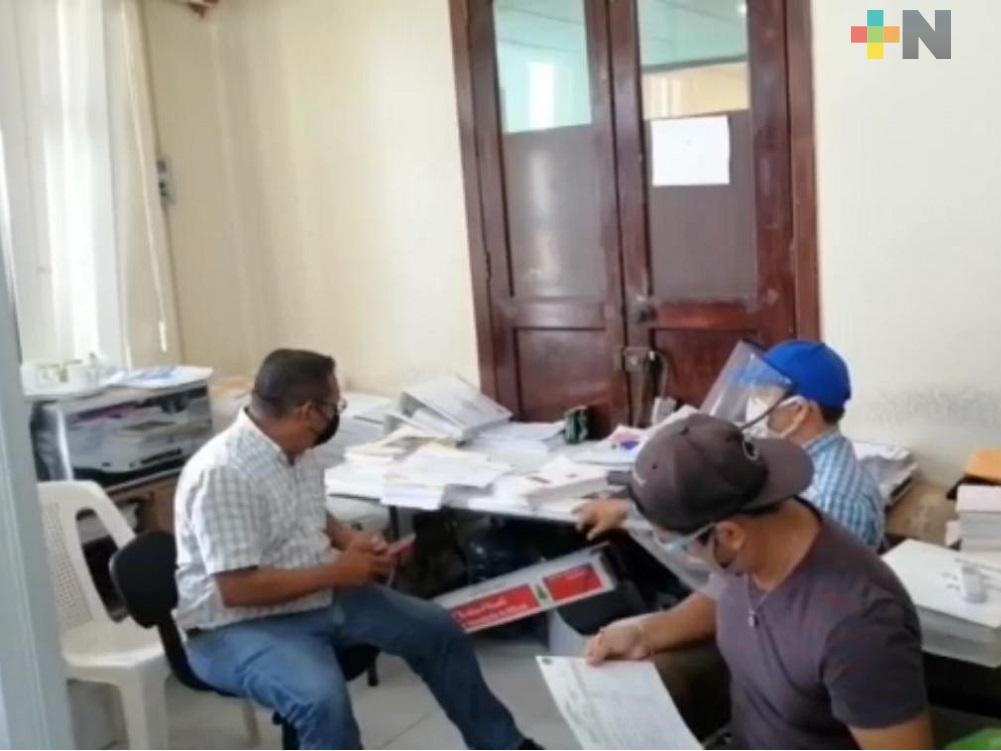Antes de fin de año, quedará actualizado y en orden Archivo Histórico de Coatzacoalcos