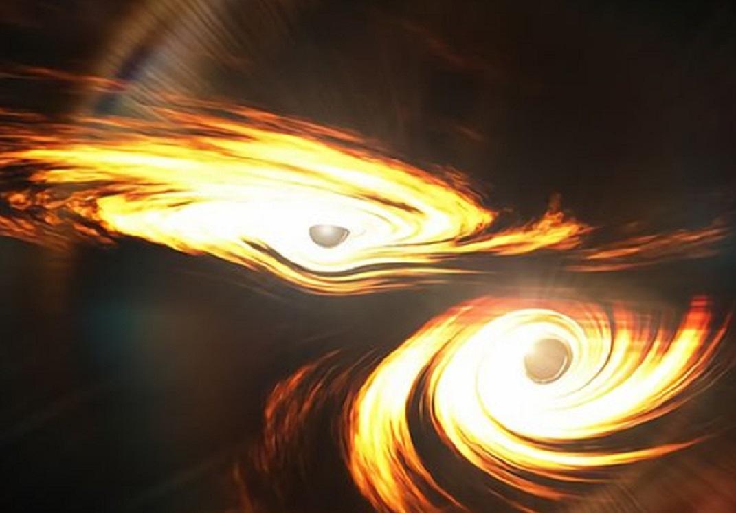 Aporta colisión de dos agujeros negros nuevas pistas sobre el origen de las estrellas