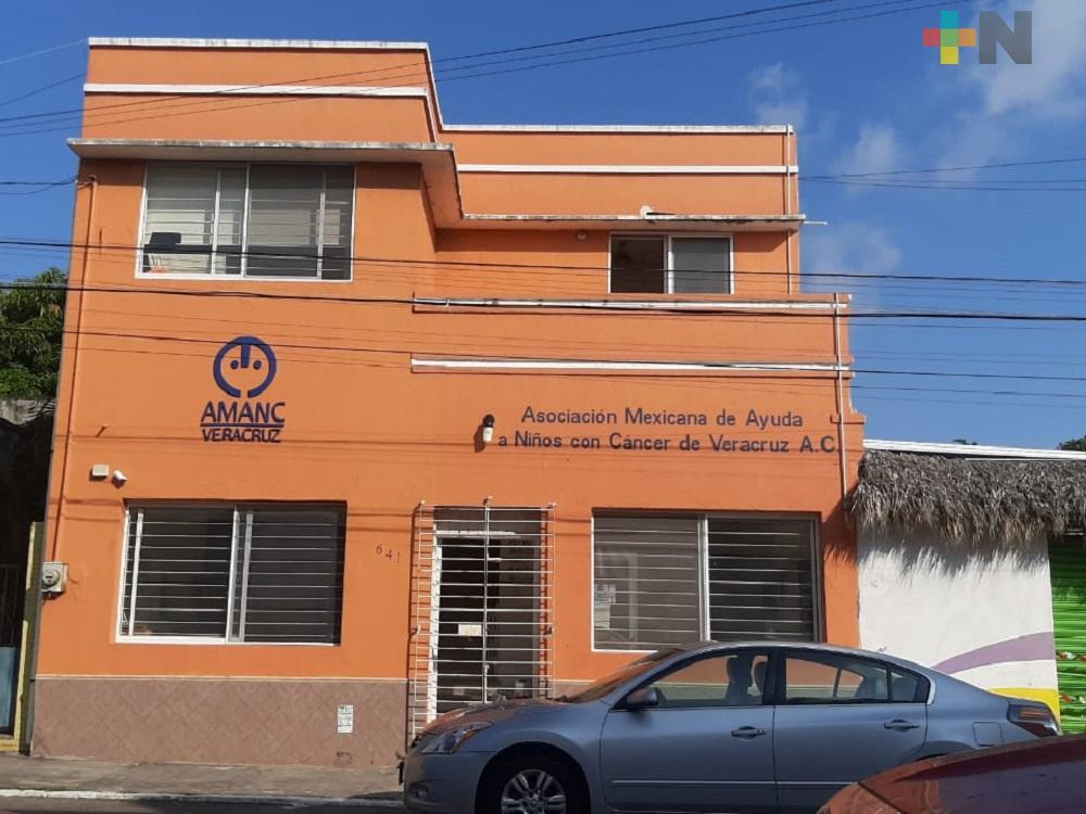 Para apoyar a niños con cáncer, AMANC Veracruz recaudará apoyos económicos y en especie
