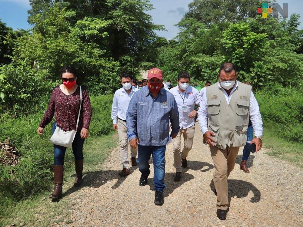 Atendió Gobierno del Estado a afectados por lluvias, en la Cuenca del Papaloapan
