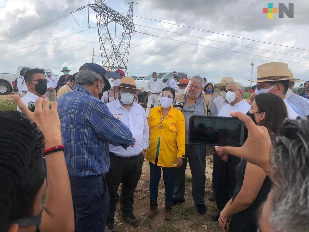 Avance del 40% lleva remediación del basurero de  Las Matas en Minatitlán