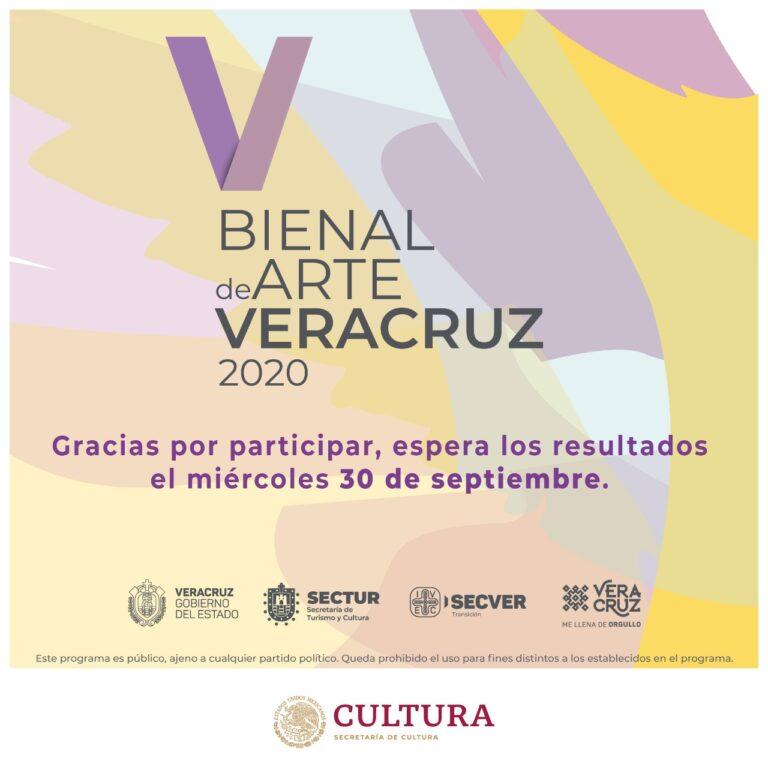 Con amplia participación cierra convocatoria de la 5º emisión Bienal de Arte Veracruz 2020