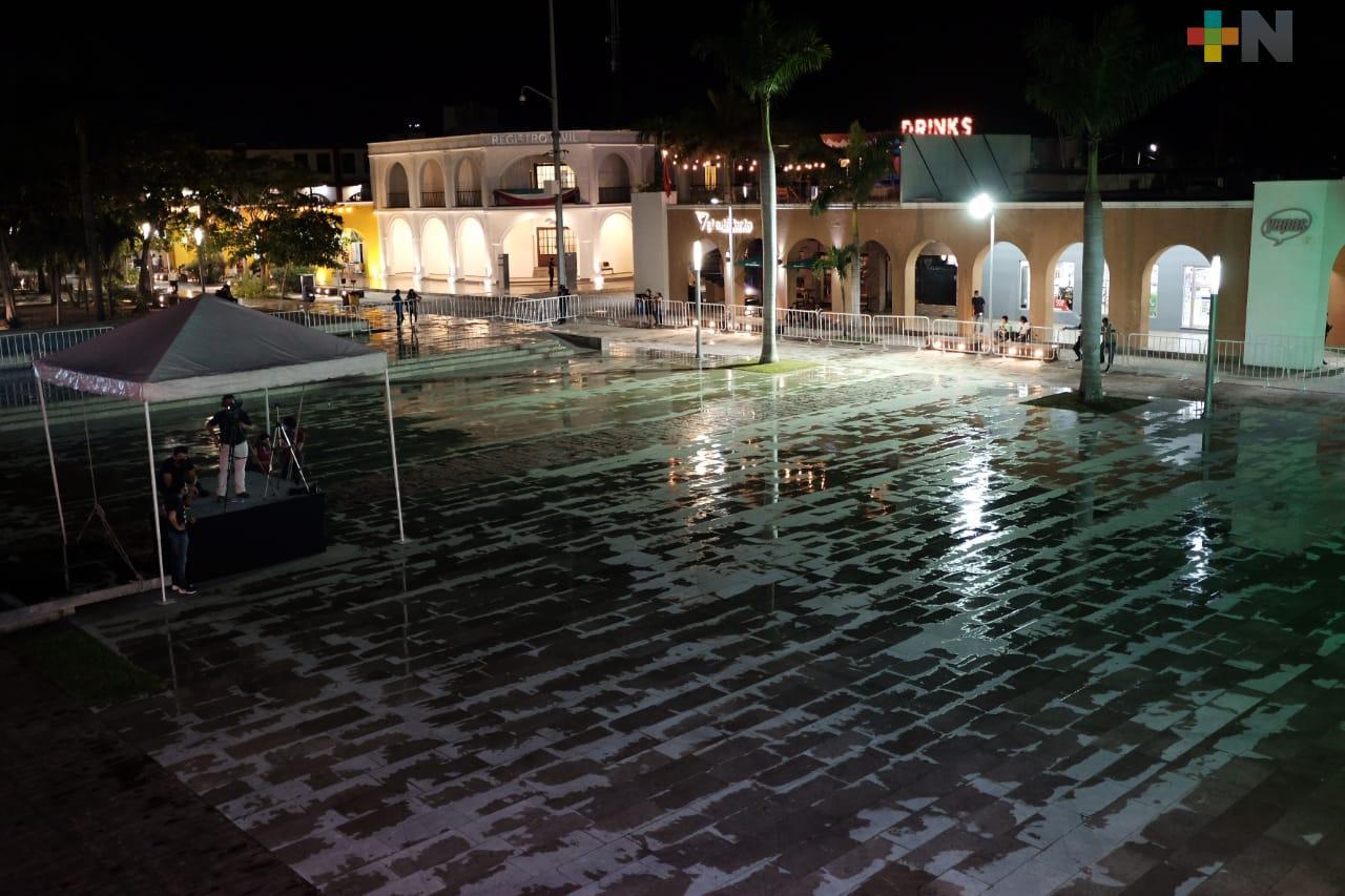Saldo blanco en Veracruz en ceremonias del Grito de Independencia, reportó SPC