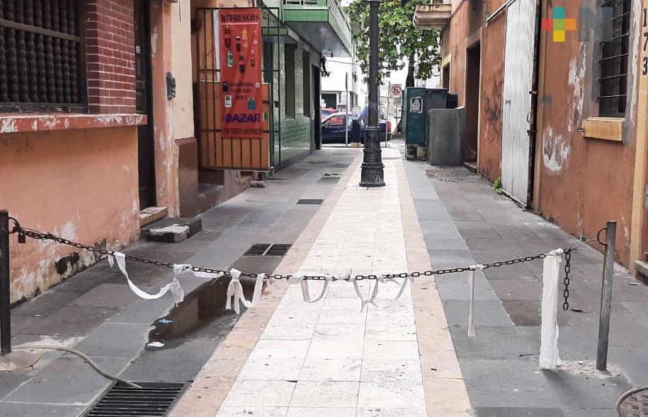 Exigen mayor vigilancia en callejón Clavijero del Centro Histórico de Veracruz