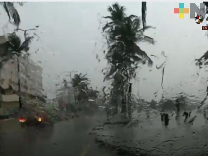 Probabilidad de tormentas y lluvias moderadas a fuertes