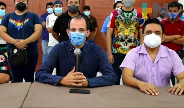Uso de parafina en suelta de globos, reduce accidentes: alcalde de San Andrés Tuxtla