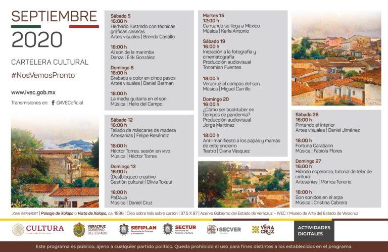 Presenta IVEC proyectos resultantes de la convocatoria #NosVemosPronto