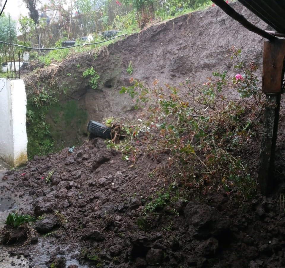Reportan afectaciones por Frente Frío 4 y Norte en el Estado de Veracruz