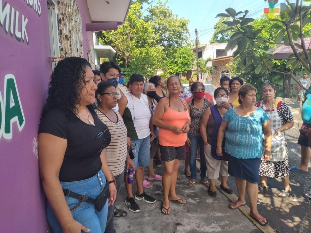 Colonos de Veracruz sin energía eléctrica desde hace más de 10 días; no han recibido solución