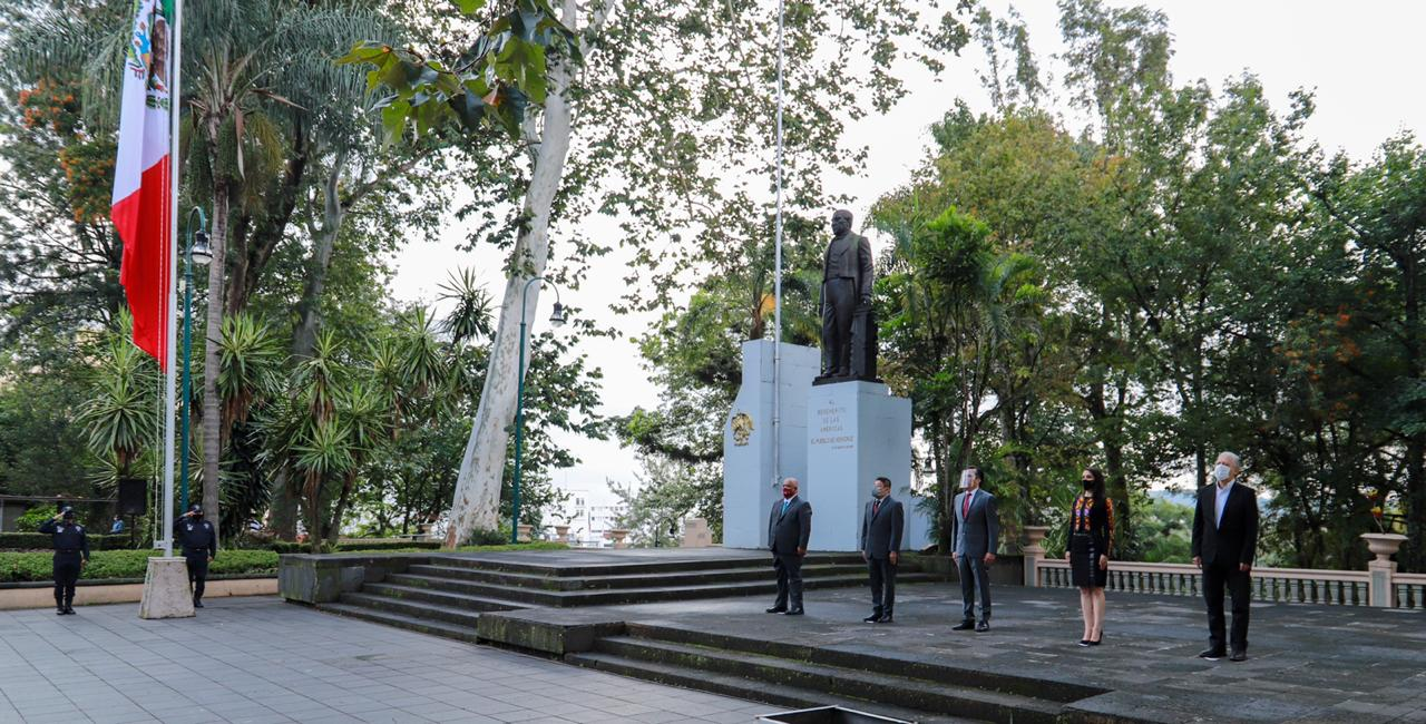 Encabezó el Gobernador de Veracruz, inicio de festejos del 210 aniversario de la Independencia de México
