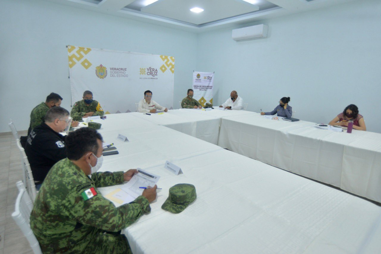 Encabezó Gobernador de Veracruz mesa de seguridad en Tres Valles