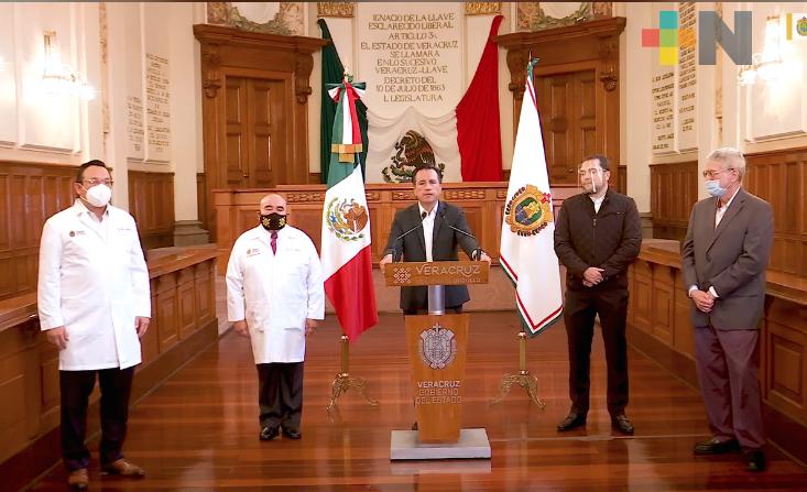 Hospital General de Boca del Río usará dinero de rifa para infraestructura y equipamiento: Cuitláhuac García Jiménez