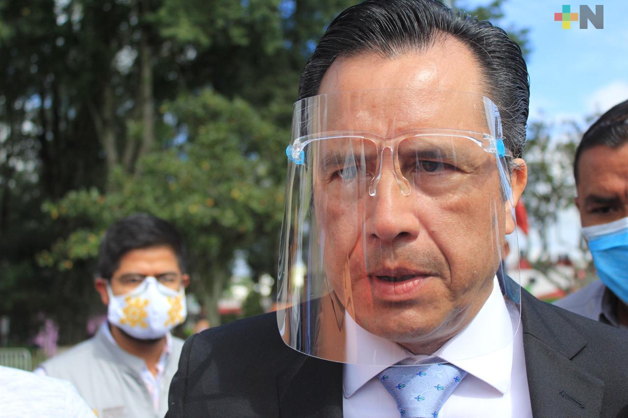 Grito de Independencia será virtual: Gobernador de Veracruz