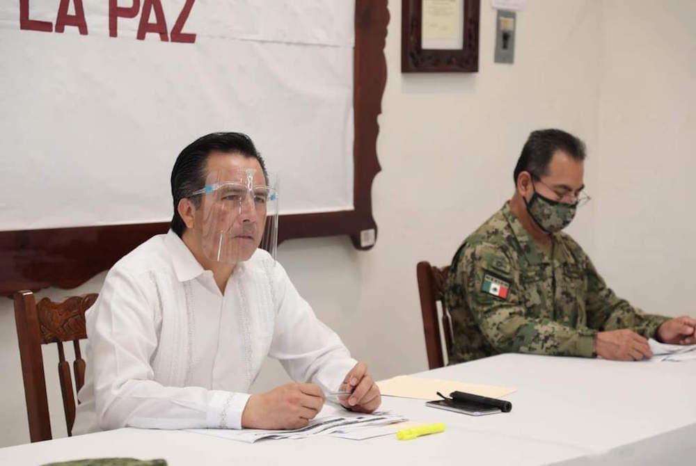 Exhorta Cuitláhuac García a municipios a tomar precauciones ante entrada del FF 4