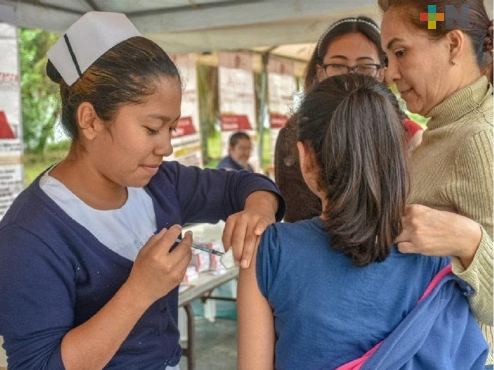 Realizarán campaña de vacunación triple viral en Centros de Salud de Coatzacoalcos