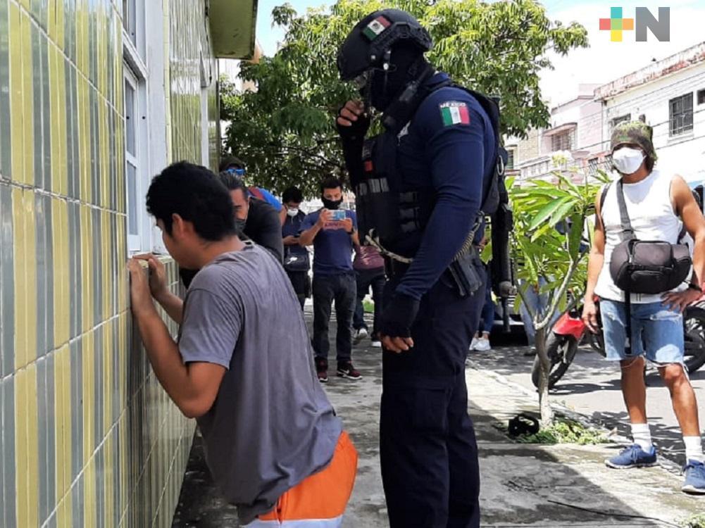 Dictan prisión preventiva a presunto violador que atacó a joven en el puerto de Veracruz