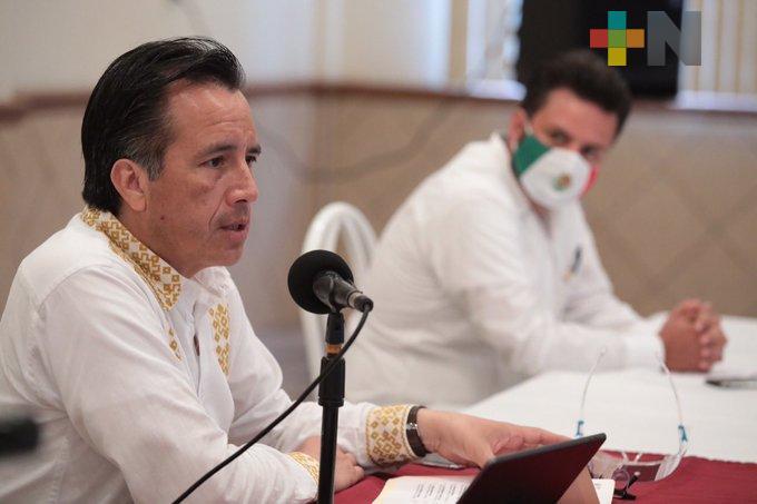 Presenta gobernador Cuitláhuac plan de reestructuración de deuda municipal a alcaldes de la Huasteca