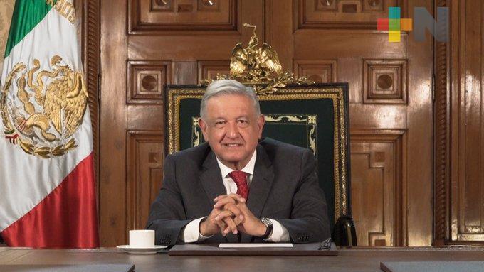México está logrando su Cuarta Transformación a pesar de crisis económica y de salud, expone el Presidente López Obrador ante la ONU