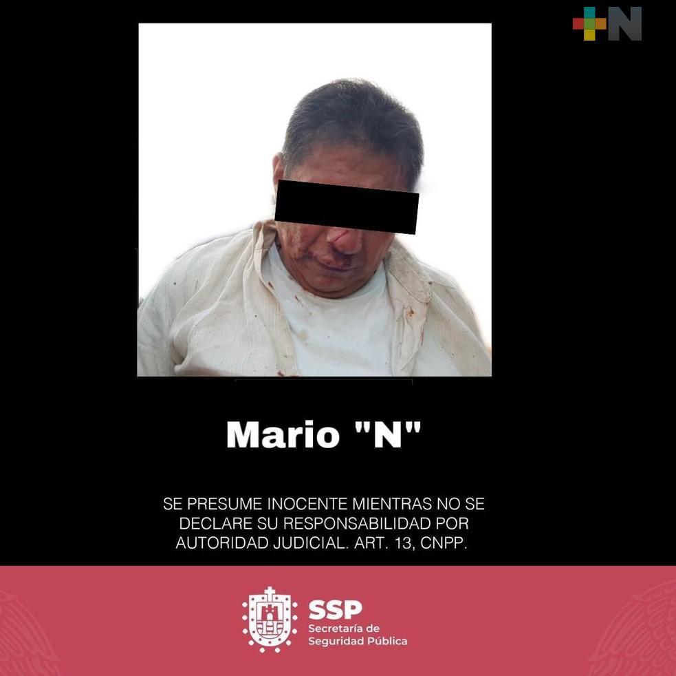 Detenido, quien atropelló a personas en Coatzacoalcos