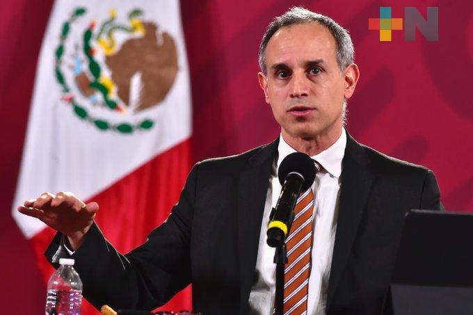 Hay 738 mil 163 casos confirmados de Covid-19 en México