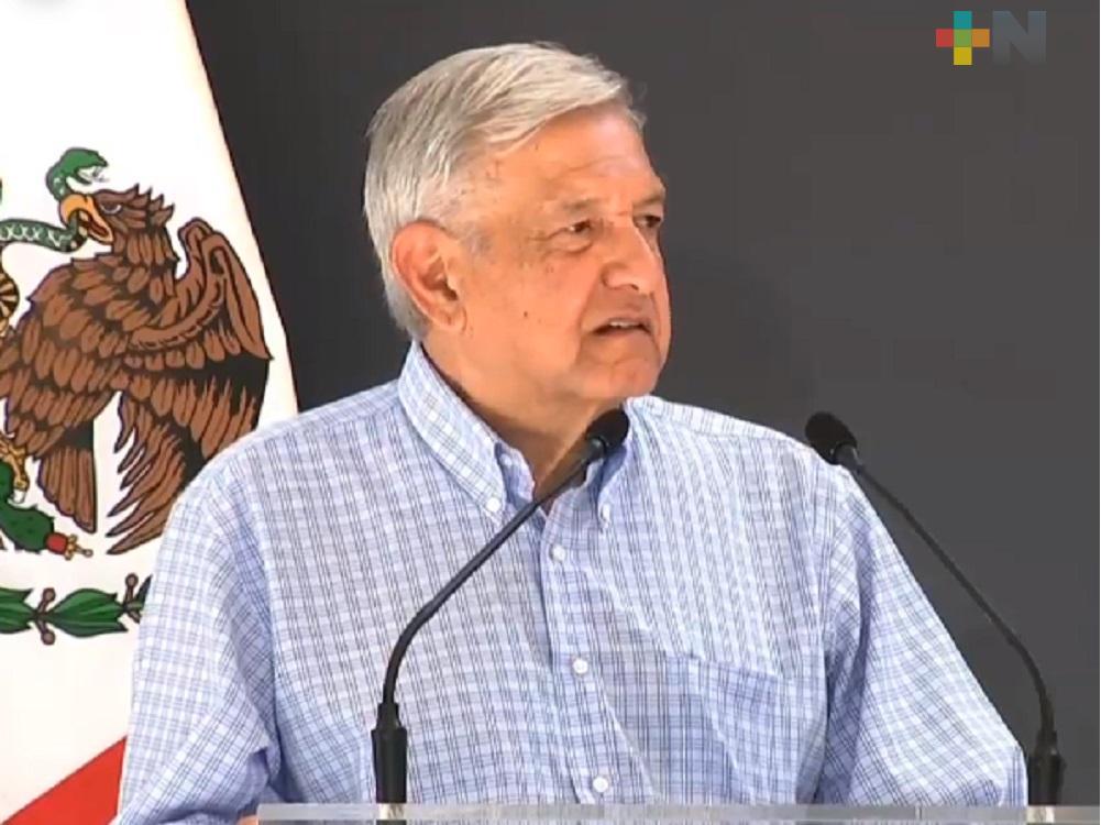 El 60 por ciento de hogares veracruzanos recibe algún programa Bienestar: López Obrador