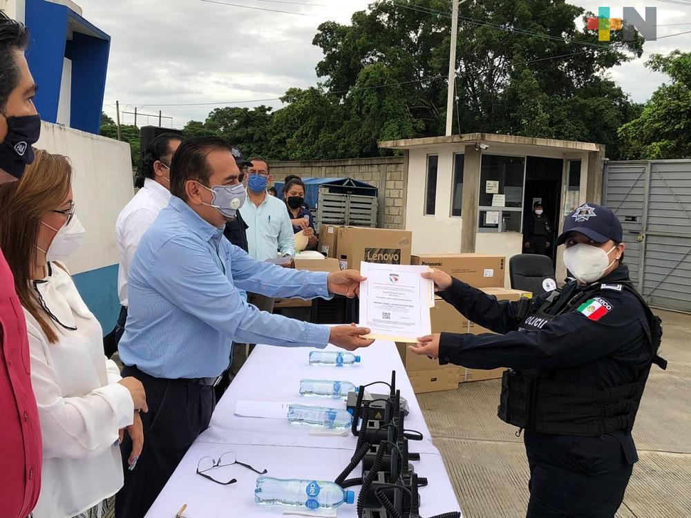 En Martínez de la Torre se trabaja para mejorar la seguridad pública