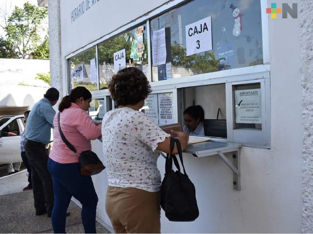 En Minatitlán, con programa buscan que ciudadanía esté al corriente en pago de predial