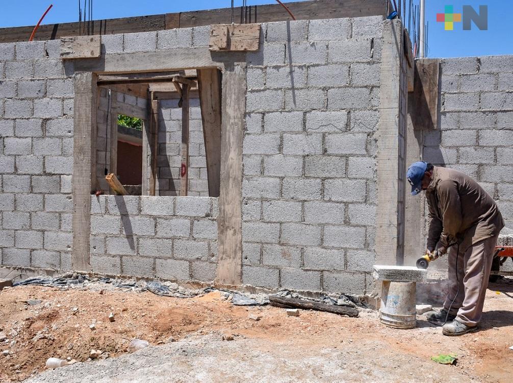 En un mes entregarían viviendas a quienes perdieron su casa tras sismo de 2017, en Coatzacoalcos