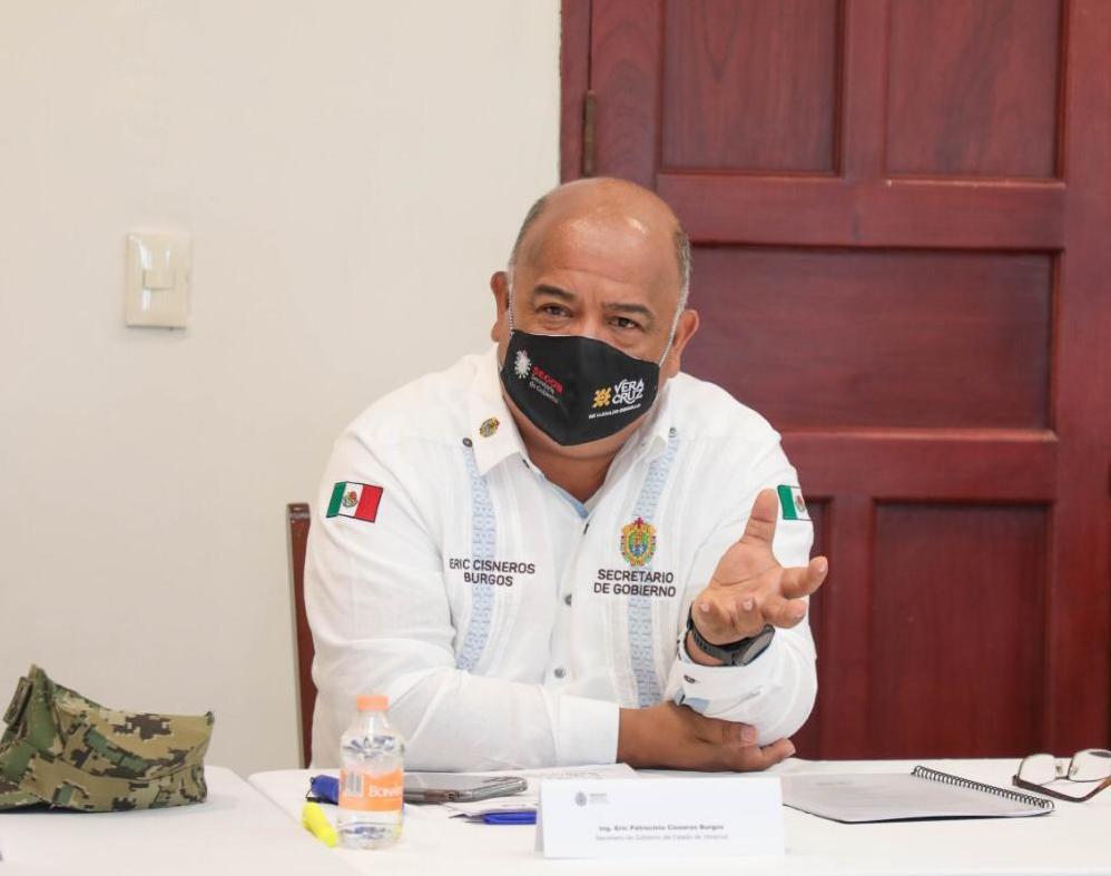 Con apoyo de nuestro Presidente, mejoramos seguridad en Veracruz: Eric Cisneros