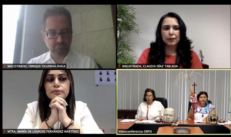 Juzgar con perspectiva de género y perspectiva intercultural: Claudia Díaz Tablada