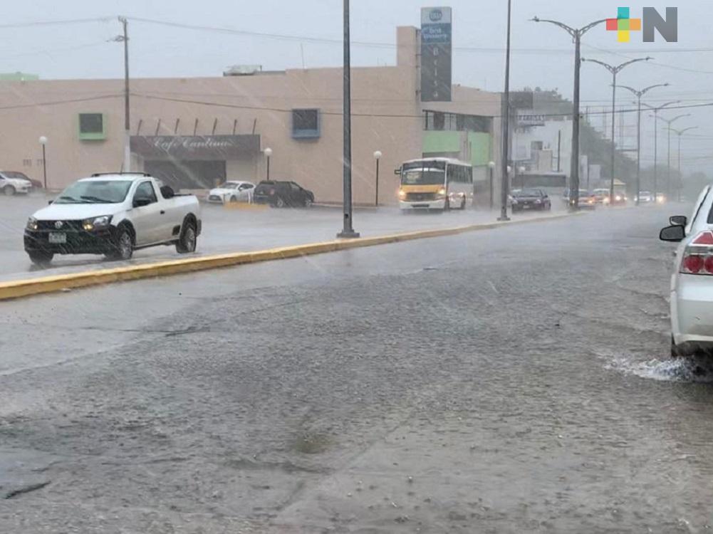 Emite Protección Civil, Aviso Especial por evento de norte  y lluvia intensa por Frente Frío 25