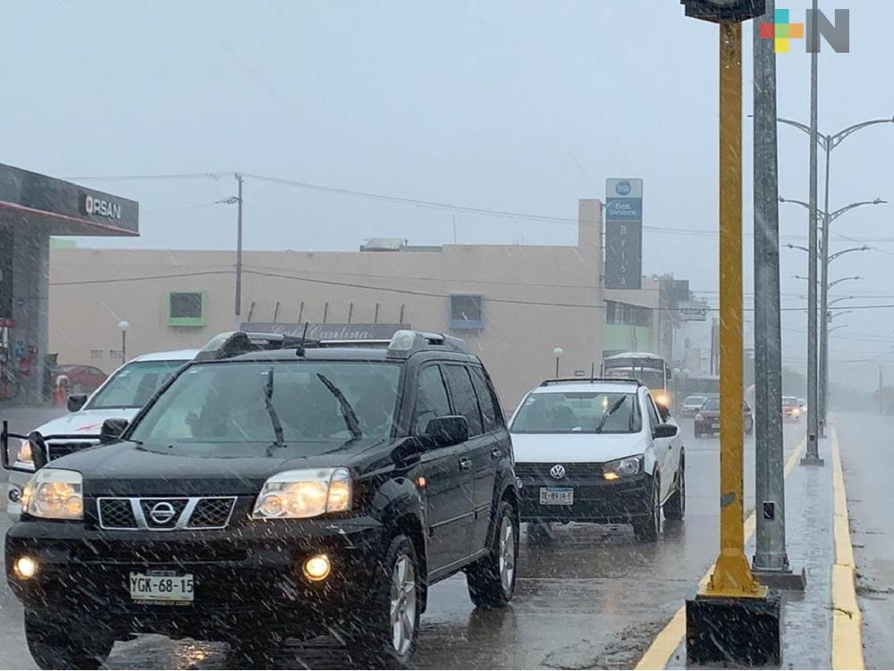 Frente Frío 17 trae lluvias muy fuertes en zona sur y heladas en montaña