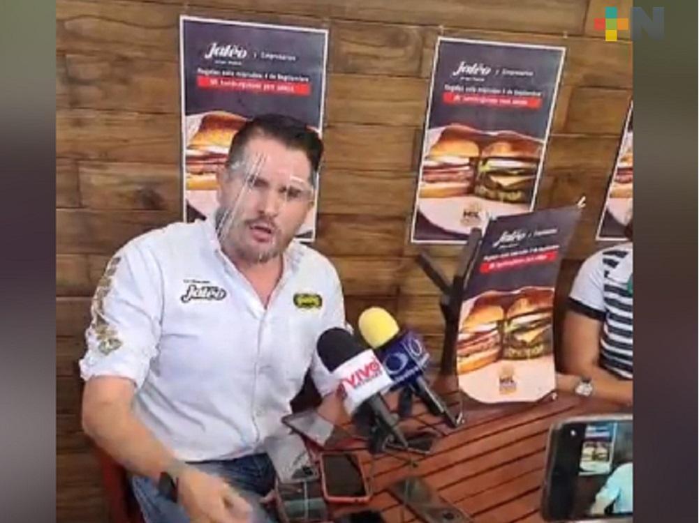 "Grupo musical ""Jaleo"" y empresarios xalapeños donarán mil hamburguesas a personas afectadas por pandemia"